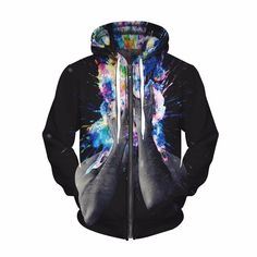 mind blow zipper hoodie. Psychedelic, trippy clothes, cool, streetwear, trippy art.