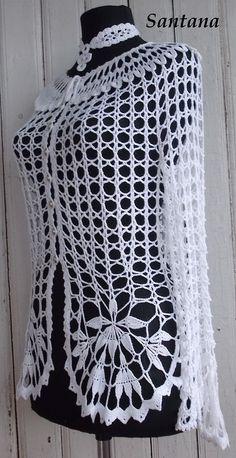 Crochet cardigan diagram bolero pattern 43 New Ideas Crochet Shirt, Crochet Jacket, Crochet Poncho, Crochet Shrug Pattern Free, Free Crochet, Free Pattern, Modern Crochet Patterns, Crochet Clothes, Creations