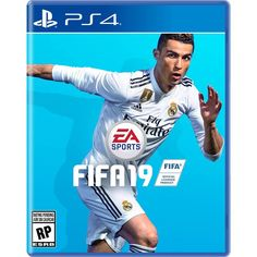 The new FIFA 19 cover ! Ronaldo is on the cover for the second time in a row ! What are your thoughts? Did Ronaldo deserve to be on the cover of FIFA 19 ? Messi, Neymar, Cristiano Ronaldo, Ronaldo Soccer, Cr7 Ronaldo, Fifa Games, Soccer Games, Playstation, Fifa Covers