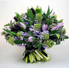 Lilac tulip flowers McQ