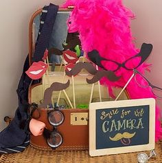Unique Ideas for Fun Wedding Day Activities for Kids - Wedding Party - just attended a wedding with a setup like this: photo props, camera on tripod, cute backdrop. So fun for adults and kids! Wedding Photo Booth, Photo Booth Props, Wedding Pics, Dream Wedding, Wedding Day, Photo Booths, Wedding Ceremony, Wedding Dresses, Wedding Activities
