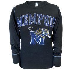Long Sleeve Thermal Memphis Tigers Shirt