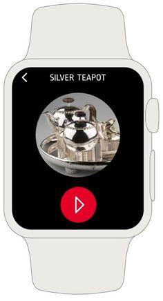 #fluxguide bringt den Audioguide aufs Handgelenk! Im Rahmen... Workshop, Silver Teapot, Tea Pots, How To Make, Research Projects, Frame, Atelier, Tea Pot