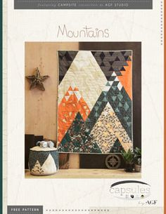 Mountains Pattern by AGF Studio - free download