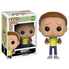 [Preorder] Rick and Morty Pop! Vinyl Figure Morty