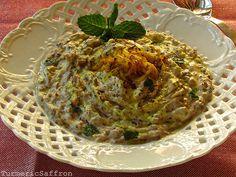 Borani Bademjan - Persian Eggplant and Yogurt Dip