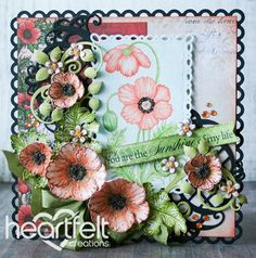 Heartfelt Creations | Poppy Sunshine