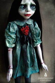 art doll ooak GWEN by HorkaDolls on Etsy