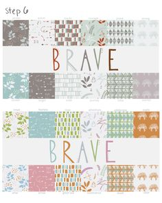 poppyquinn: designing surface patterns from scratch blog tour // see the creative process from start to finish // how to design a surface pattern collection