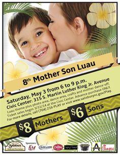 8th Annual Mother Son Luau