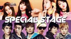 "Teen Top %26 Girl's Day perform Psy's ""Gentleman"" on 'Music Bank'!"