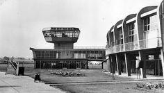 Tour Scotland Photographs: Old Photograph Renfrew Airport Scotland