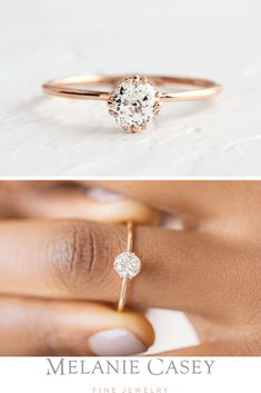 Rose gold engagement ring set Curved wedding women Diamond Cluster ring Unique engagement ring Promise Multi gift Bridal Anniversary custom All our diamonds are natural and not clarity enhanced or treated in anyway. We only use conflict-free diamond Morganite Engagement, Rose Gold Engagement Ring, Engagement Ring Settings, Vintage Engagement Rings, Bohemian Engagement Rings, Solitaire Engagement Rings, Bohemian Wedding Rings, Country Engagement, Engagement Couple