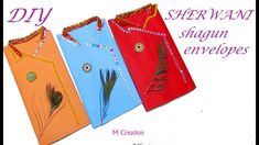 Sherwani shagun envelope/diy shagun envelopes