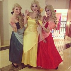 Gaston's Groupies From Beauty and the Beast
