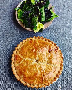 To come home to this chicken and mushroom pie is a gift. In my office, we say that if you cook it for your loved one, its the dish that gets you married. Master it and good things will happen - say no more! recipe in my Comfort Food book guys xx Happy weekend