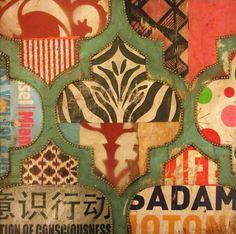 Global Collage   Jill Ricci | print pattern