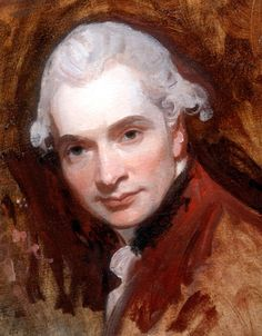 Work in Progress Selfie! George Romney (26 December 1734 – 15 November 1802), c.1760, English portrait painter. He was the most fashionable artist of his day, painting many leading society figures - including his artistic muse, Emma Hamilton, mistress of Lord Nelson.