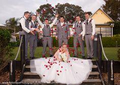 Spring wedding at Raffertys Mecure Resort.
