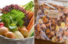 Las verduras frescas son mejores que las congeladas - noonland/Westend61/Corbis; (c) Hero Images/Corbis