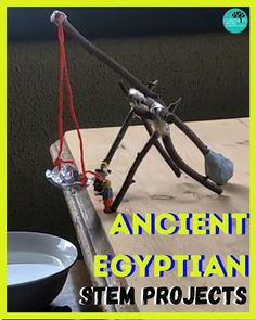 Ancient Egypt Activities, Ancient Egypt For Kids, Ancient Egypt History, Forest School Activities, History Activities, Science Activities, Ancient Civilizations Lessons, Egyptian Crafts, Egypt Culture