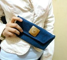 diy jeans purse, super easy to make!