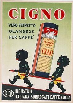 ✔️ Estratto Caffè Cigno, I.S.C.A. Aulla, Italy, 1951. Printer: Arti Grafiche Panetto & Petrelli, Spoleto.