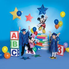 Building Blocks and Books Prop Set - Use these unique props for graduation, award ceremonies, and other special events.