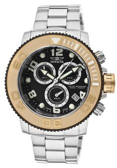 Price:$390.99 #watches Invicta 12532, With a bold, masculine design, Invicta Chronograph has a poised and calm ambience that's sure to have you looking twice.
