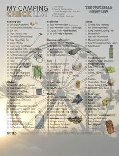 Coachella camping checklist