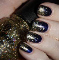 Glitter China Glaze Nails. LOVE!