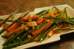 Mennonite Girls Can Cook: Green Beans and Carrots