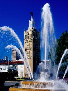 Kansas City-the city of fountains.