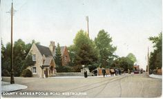 I have two, one postmarked the other postmarked Bournemouth, Vintage Postcards, Gates, Street View, Park, Vintage Travel Postcards, Parks, Gate