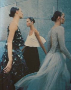"""❍ 'Synthese Couture' photograped by Enrique Badulescu for Vogue Paris September 1998 """""""