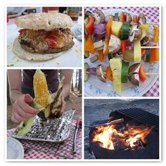 Vegan Camping Food- made on the fire