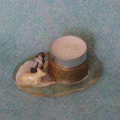 Bougeoir chauffe plat berger et mouton  En vente sur : http://www.alittlemarket.com/boutique/recup_creation-343513.html