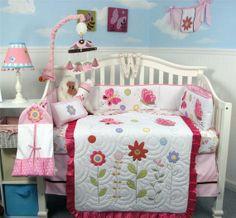 Springtime Butterfly Baby Nursery Bedding Set  by xoxobabyboutique, $120.00