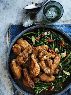 Chicken Wings in Vietnamese Caramel