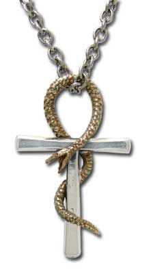 Ankh of Tau Esoteric Cross Pendant P508