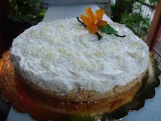 Torta fredda di yogurt (senza gelatina)
