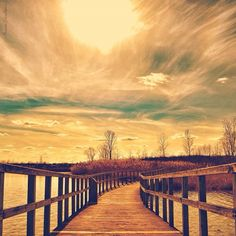 Crosswinds Marsh Preserve, New Boston, Michigan-this picture makes it look a lot more serene than it truly is.