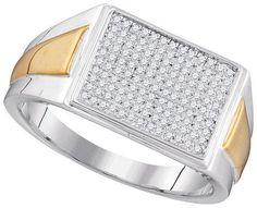 1/3CTW-Diamond MICRO-PAVE RING