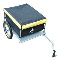 Shop a great selection of Aosom Elite Bike Cargo / Luggage Trailer - Yellow / Black. Find new offer and Similar products for Aosom Elite Bike Cargo / Luggage Trailer - Yellow / Black. Buy Bike, Bike Run, Hitch Bike Rack, Specialized Bikes, Bicycle Maintenance, Cool Bike Accessories, Oxford Fabric, Bike Seat, Cycling Bikes