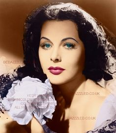 HEDY LAMARR TECHNICOLOR CONVERSION BY BEDAZZZLED