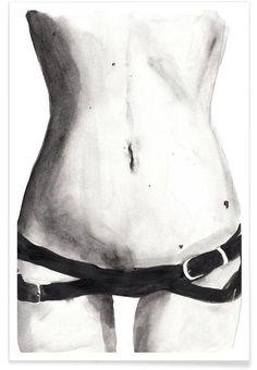 Tuesday with Kate als Premium poster door Victoria Verbaan | JUNIQE