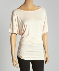 This Peach Dolman Top is perfect! #zulilyfinds