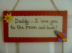 father's day plaques uk