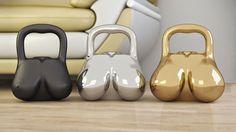 HaHaHa I love these kettlebells !!