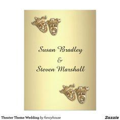 Theater Wedding Invitation